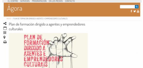 """Taller: """"Fiscalidad y contratación"""" en el Plan de Formación dirigido a Agentes y Emprendedores Culturales del Ayuntamiento de Coruña 18 y 19 de octubre de 2017"""